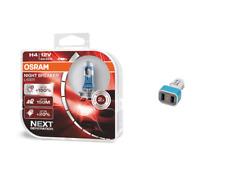 OSRAM H4 12 V Night Breaker Laser +150% mehr Helligkeit +  2xUSB Adapter+Display
