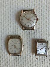 lot de 3 montres vintage homme femme  Chilex Dauphine antichoc