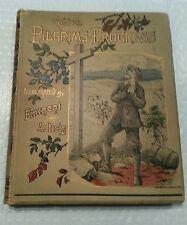 THE PILGRIM'S PROGRESS Cool ILLUSTRA BY EMINENT ARTISTS LATE 1800'S JOHN BUNYAN