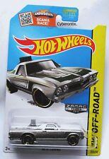 Hot Wheels Zamac '68 El Camino 2015 Walmart 1968 NEW MOC