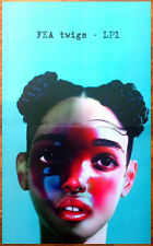FKA TWIGS LP1 Ltd Ed Discontinued RARE Poster +FREE Electronic/Indie/Pop Poster!