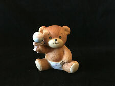 Lucy & Me Baby Bear With Rattle Lucy Rigg Enesco 1982