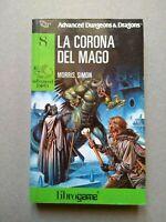 Advanced Dungeons & Dragons 8 LA CORONA DEL MAGO  librogame  EL