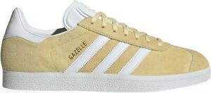 ADIDAS Originals GAZELLE Mens Trainers UK SIZE 9 Yellow BRAND NEW