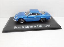 1/43 COCHE RENAULT ALPINE A 110 1969 IXO RBA METAL MODEL CAR 1:43 MINIATURA