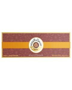 Roger & Gallet Bois D'Orange Perfumed Soaps 3 x 100g GENUINE & NEW