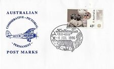 Permanent Commerative Pictorial Postmark - Kallangur 4 Jul 1996 - 45c