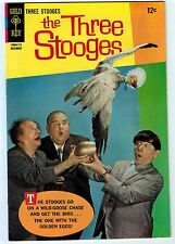 THREE STOOGES #37 8.0 WHITE PAGES SILVER AGE