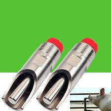 Pig Swine Livestock Stainless Steel Waterer Drinkers Nipples Water Drinking PT
