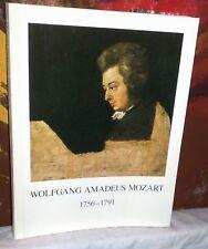 WOLFANG AMADEUS MOZART 1756-1791 English translation