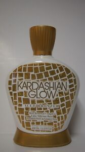Kardashian Glow Iced Bronzer Skin Renewal Complex Luxe Silicone Tanning Lotion