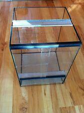 30x30x40 cm Glas Terrarium NEU + Schiebetür +  Doppellüftung für Vogelspinnen