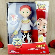 Disney Pixar Toy Story 20th Anniversary Jessie Talking Action Figures Doll Toy