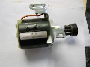 Used Genuine Tecumseh Engine Electric Starter with Metal Drive Gear 35709