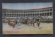 """C1920's View of a Spanish Bull Fight """"Entrada de la Cuadrilla"""""""