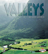 First Step Non-fiction Landforms: Valleys,Sheila Anderson,New Book mon0000107872
