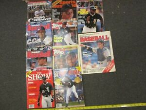 10 Magazines S & S's Baseball Sports Illustrated TOPPS Sports Look The Show Lot