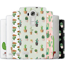 Dessana Cactus Cute TPU Silicone Protective Cover Phone Case Cover For LG