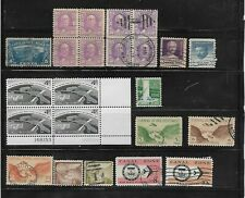23 Mint & Used Canal Zone stamps - c.v. $12.60