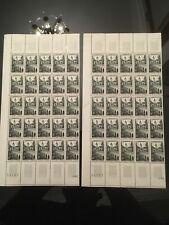 Lot Le Quesnoy 8 Fr X 50 timbres neufs, Affranchissement