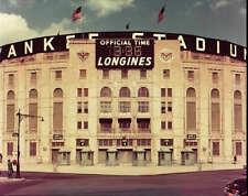 YANKEE STADIUM 8X10 PHOTO MLB PICTURE BASEBALL NEW YORK YANKEES NY 1950'S