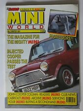 MINI WORLD MAGAZINE WINTER 1991 NUMBER 2 EDITION ENGINE TUNING RACING