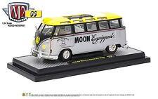 1:24 M2 Machines *MOONEYES* 1959 VW Volkswagen Microbus Deluxe *NIB*