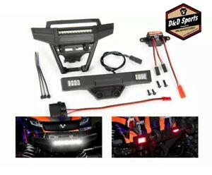 Traxxas 9095 LED light set inc. front & rear bumpers LED lights power supply