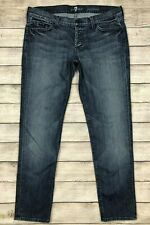 7 for all Mankind Josepina Jeans Size 30 Botton Fly G12