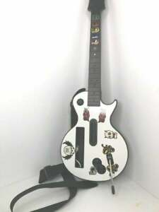 Nintendo Wii Guitar Hero Gibson Les Paul Bundle- TESTED w/ Strap Condition is pr