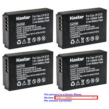 Kastar Replacement Battery Pack for Canon LP-E12 LC-E12 Canon PowerShot SX70 HS