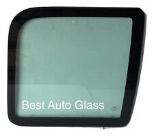 1992-2014 Ford Econoline Rear Passenger Side Hinged Door Window Glass Movable