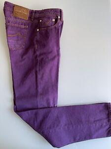 jeans uomo jacob cohen Tg.36 Viola