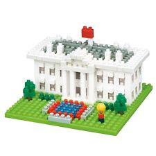 nanoblock - The White House - nano blocks micro size blocks by Kawada (NBH-144)