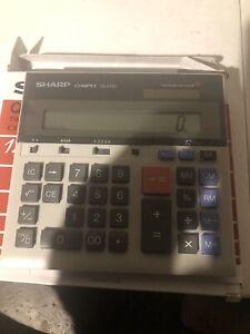 Sharp COMPET QS-2130 Solar Cell 12-Digit Display Electronic Desktop Calculator