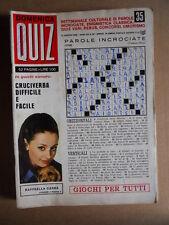 Domenica Quiz n°35 1969 - Raffaella Carrà   [D55]