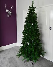 7ft (210cm) New Foundland Slim (106cm) Pine Christmas Tree with 866 tips