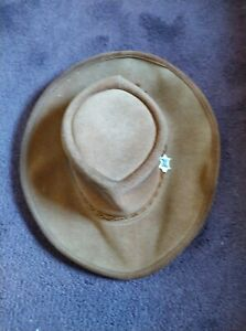 Mens real leather hats