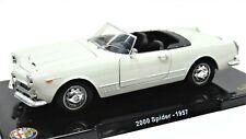 Modellauto Auto Alfa Romeo 2000 Spider modelle 1/24 diecast automodell Seltene