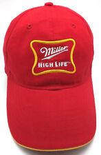 898b588e4b2fa MILLER HIGH LIFE lightweight red adjustable cap   hat
