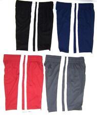 Tek Gear Boy's Basketball Shorts NWT S 8 or M 10/12   Black  Blue  Red  Gray