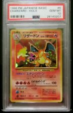 PSA 10 Charizard Japanese Base Set Holo Pokemon 1996 Original Basic