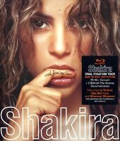 "SHAKIRA ""ORAL FIXATION TOUR"" BLU RAY+CD NEUWARE"