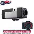 Webasto Air Top 2000 STC 2kW 12v Diesel Night Air Heater W/ Full Mounting Kit