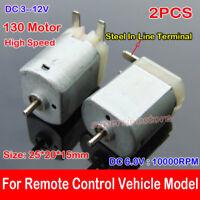 130 DC Micro Motor Brush Toy For  Type 3V-6V DC Motor Toy DIY B