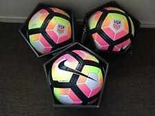 Nike Ordem 4 Official Match Soccer Ball Size 5 Lot Of Three Balls
