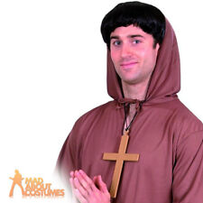 PVC Monks Cross Nuns and Vicars Adult Mens Smiffys Fancy Dress Costume Jewellery