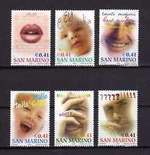 15012) SAN MARINO 2002 MNH** Nuovi** - Augurali 6v.