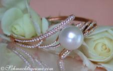 Unbehandelte Echtschmuck-Armbänder für Damen mit Diamant