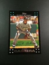 2007 Topps # 50 MIGUEL CABRERA Florida Marlins Detroit Tigers HOT LOOK !